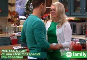 Melissa & Joey, Baby Daddy Holiday Episodes