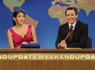 Saturday Night Live Cecily Strong Weekend Update