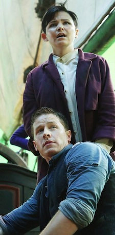 COLIN O'DONOGHUE (BACKGROUND), JOSH DALLAS, GINNIFER GOODWIN