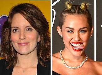 Saturday Night Live Tina Fey Miley Cyrus