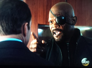 Agents of SHIELD Nick Fury