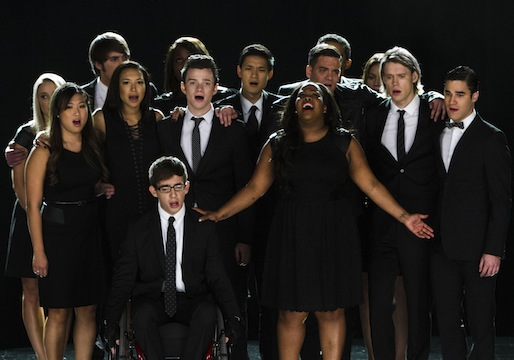 Ratings Glee Finn Dead