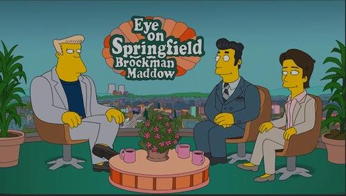 Rachel-Maddow-Kent-Brockman-The-Simpsons