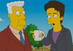 Rachel Maddow The Simpsons