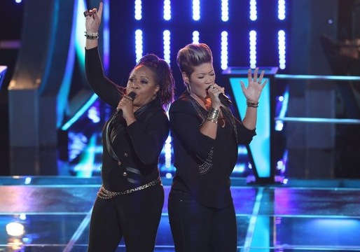 The Voice - Season 5 Tessanne Chin Donna Allen