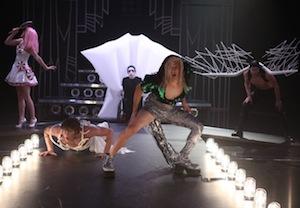 Darren Criss drag Gaga Glee
