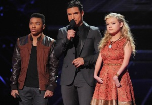 THE X FACTOR Josh Levi Rion Page
