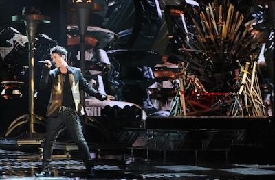 Jeff Gutt X Factor