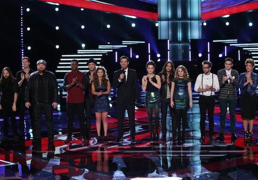 The Voice - Season 5 Top 12 Results Recap