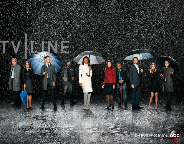 Scandal Cast Photo Season 3