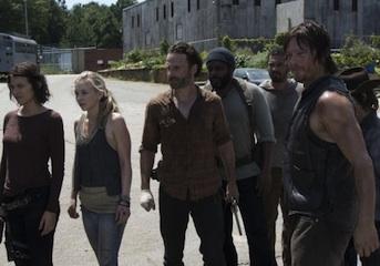 The Walking Dead Hershel Death