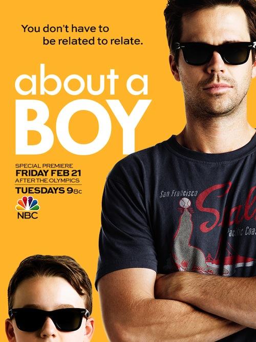 About a Boy Poster NBC