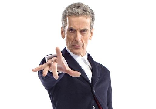 ETER CAPALDI as The Twelfth Doctor.