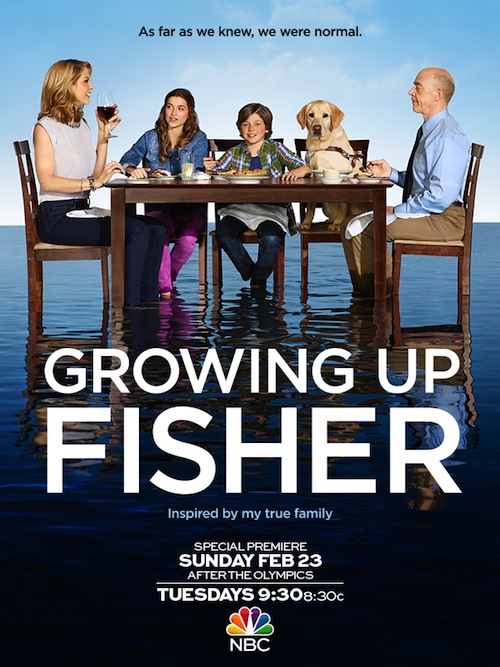 Growing Up Fisher Poster NBC
