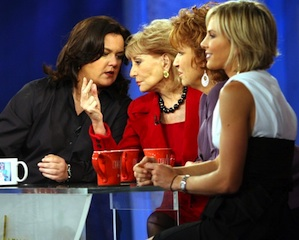 Rosie O'Donnell The View