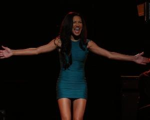 Santana Glee Don't Rain on My Parade