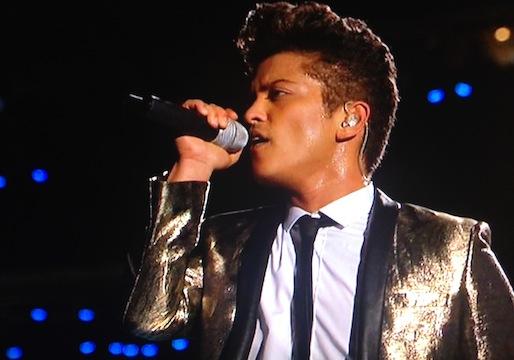 Bruno Mars Super Bowl Halftime