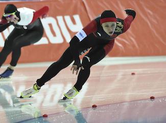 Olympics: Speed Skating-Ladies' 1000 m