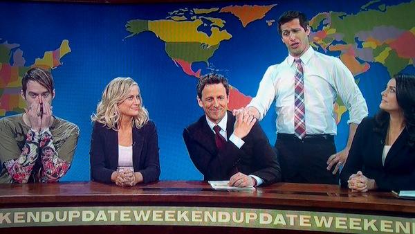SNL Seth Meyers Goodbye