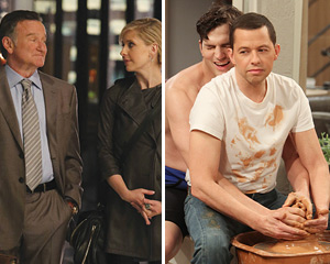 The Crazy Ones and Two and a Half Men