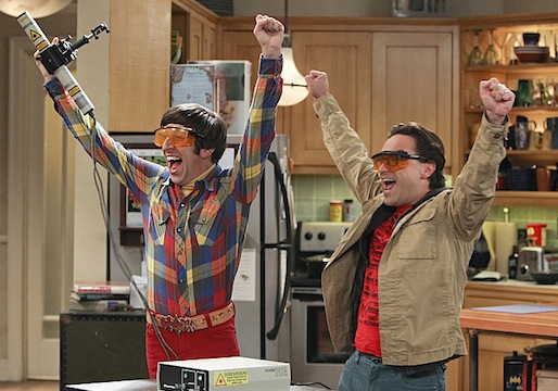 Big Bang Theory Renewed Three Seasons