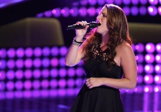 Audra McLaughlin the voice recap