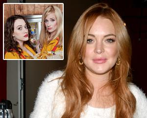 Lindsay Lohan 2 Broke Girls