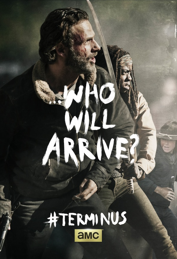 The Walking Dead Season 4 Key Art Poster Rick