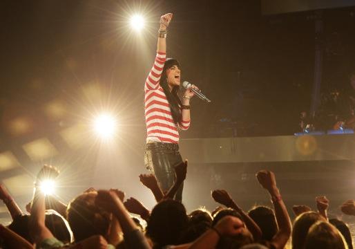 American Idol Top 5 recap jena irene my body