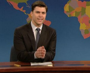 Colin Jost SNL Weekend Update