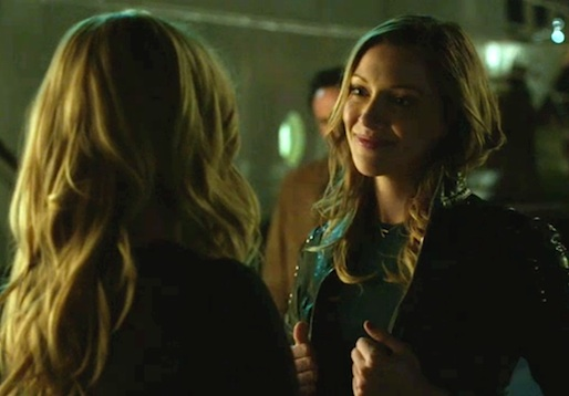 Arrow Laurel Is Black Canary