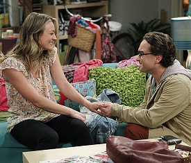 Big Bang Theory Engagement