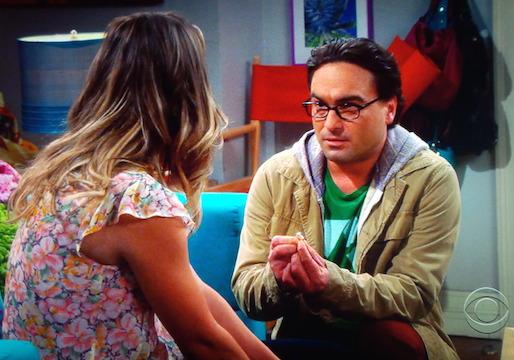 Big Bang Theory Engagement
