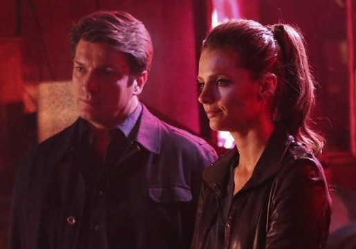Castle Finale Wedding Car Crash