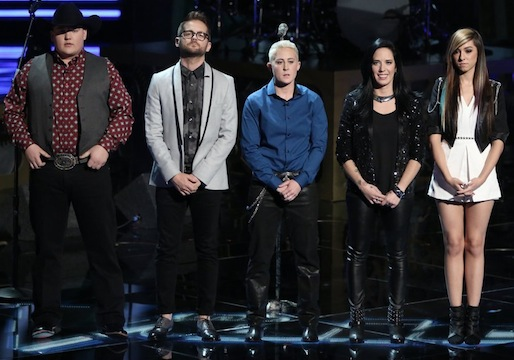 The Voice Top 5 results 2014