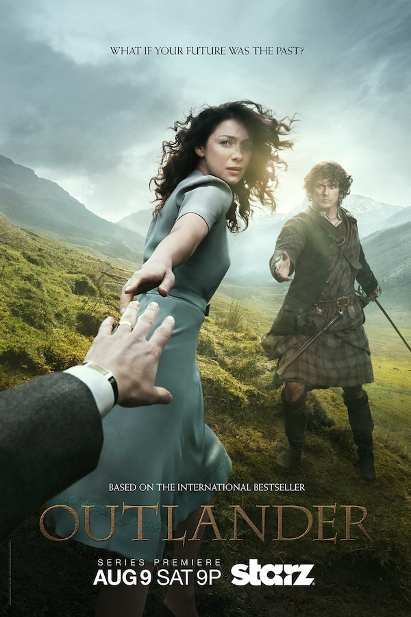 Outlander Starz Season 1 Poster