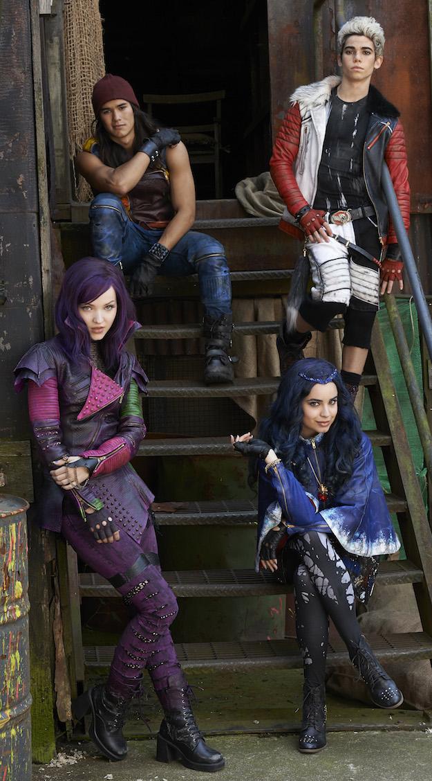 Descendants Cast Photo Disney