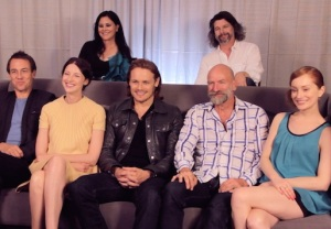 Outlander Cast Preview Video