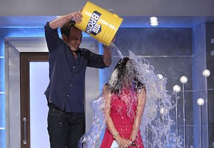 Julie Chen Ice Bucket Challenge