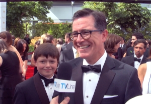 Stephen Colbert Emmys 2014 The Late Show Video