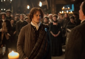 Outlander Season 1 Spoilers Sam Heughan The Gathering