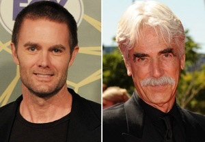 Garret Dillahunt Sam Elliott Justified