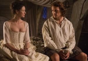 Outlander Season 1 Recap Jamie Claire Sex