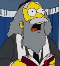 The Simpsons Rabbi Krustofski