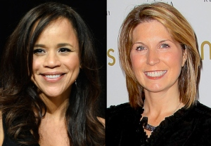 Rosie Perez and Nicolle Wallace on The View