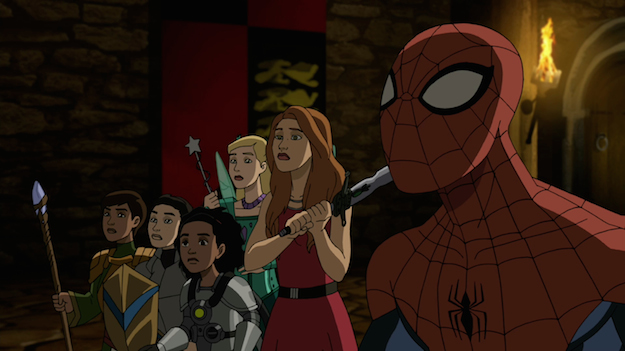 Jessie Spider-Man