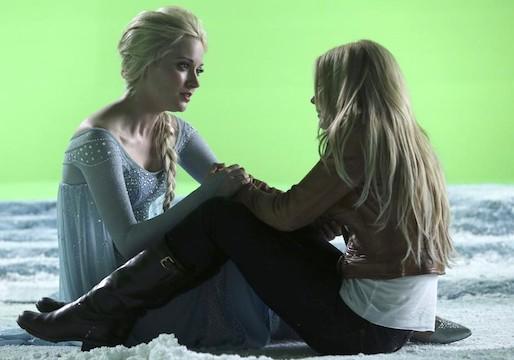 Once Uppon a Time Elsa Emma