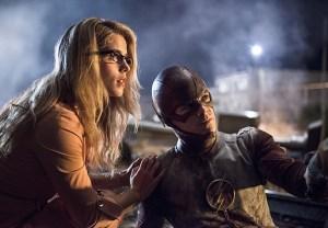 The Flash Season 1 Spoilers Felicity Crossover