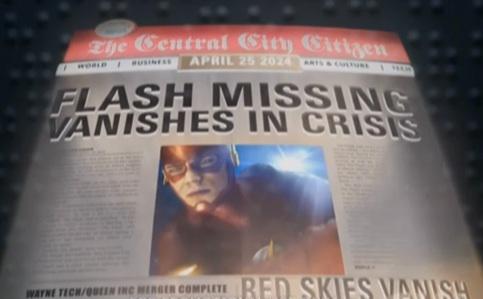 The Flash Newspaper