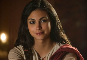 Morena Baccarin Red Tent